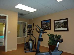 Workout Room at Footprints on the Bay